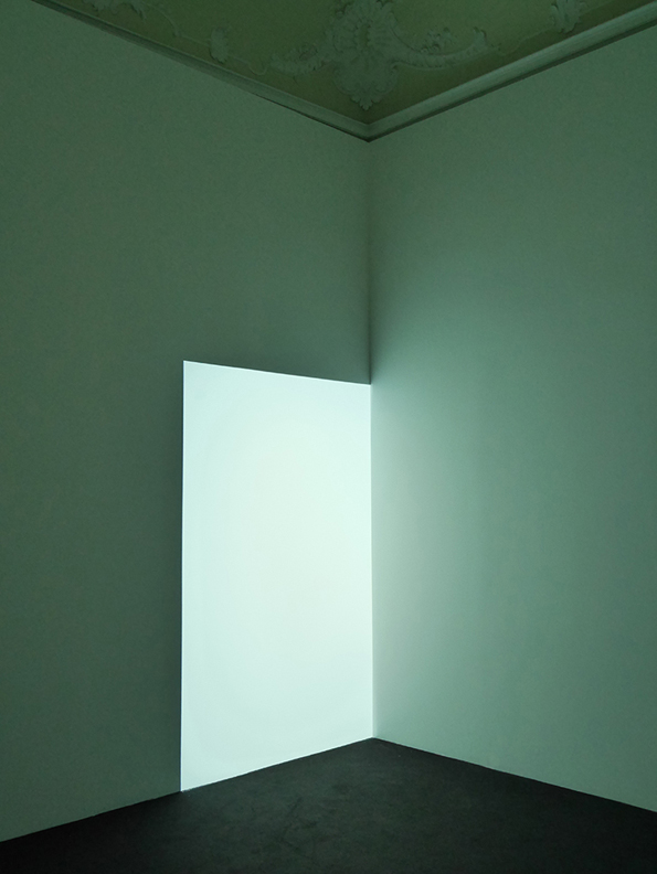 James Turrell, Wallen (White), 1976