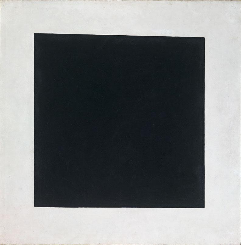 Kazimir Malevich, Black Square 1929, © State Tretyakov Gallery, Moscow
