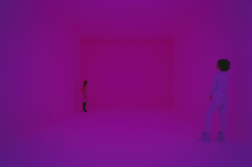 "James Turrell, Ganzfeld ""Sight Unseen"", Villa Panza,  2013 03. Photo: -® Florian Holzherr"