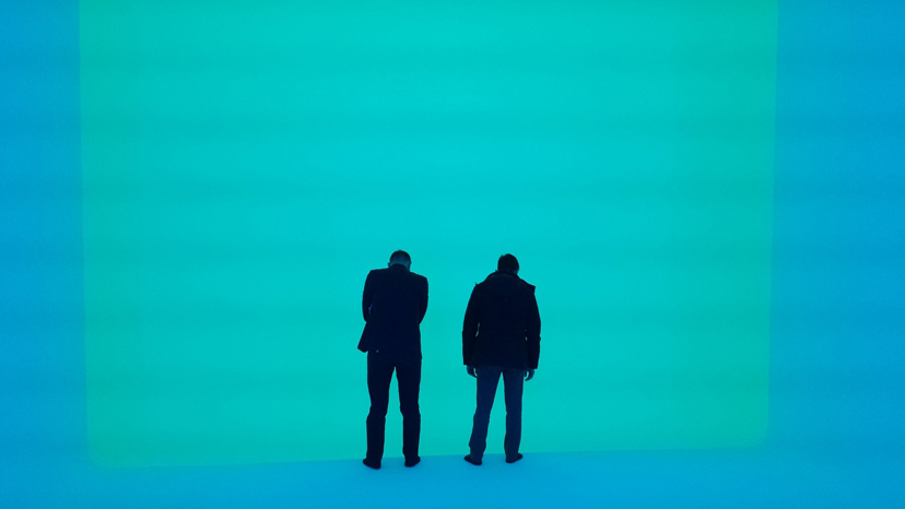 "James Turrell, Ganzfeld ""Sight Unseen"", 2013 L R. Photo: -® Florian Holzherr"