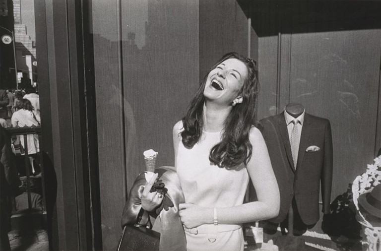 Garry Winogrand (American, 1928–1984) New York, 1968 Gelatin silver print San Francisco Museum of Modern Art, Gift of Dr. L.F. Peede, Jr. © The Estate of Garry Winogrand, courtesy Fraenkel Gallery, San Francisco