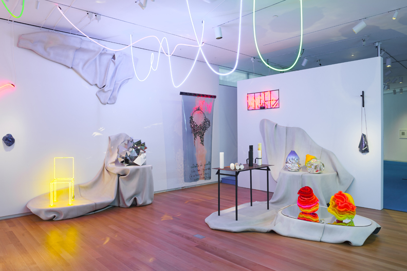 Installation photo of 'NYC Makers: The MAD Biennial' 2014. Photo by Butcher Walsh © Museum of Arts and Design