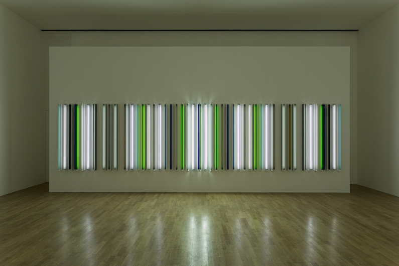 Robert Irwin, Picadilly 2013 -®  Robert Irwin, LR. Photograph. Photo: -® Philipp Scholz Rittermann, Courtesy of the Pace Gallery