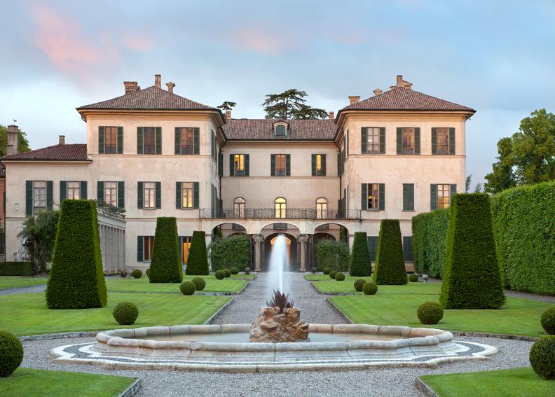 Villa and Collection Panza. Photo: Arenaimmagini.it, 2013 © FAI - Fondo Ambiente Italiano
