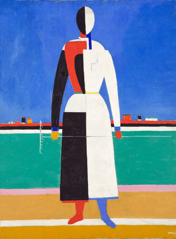 Kazimir Malevich, Woman with Rake 1930-32, State Tretyakov Gallery, Moscow, Russia