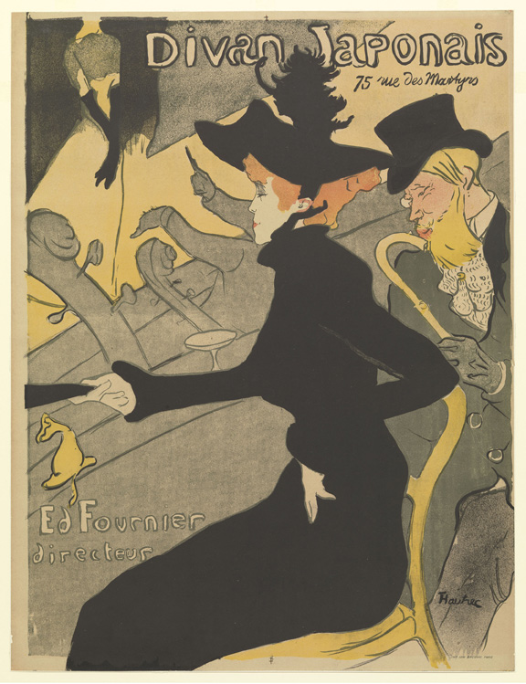 Henri de Toulouse-Lautrec (French, 1864–1901). Jane Avril. 1899. Lithograph, sheet: 22 1/16 x 15 in. (56 x 38.1 cm) The Museum of Modern Art, New York. Gift of Abby Aldrich Rockefeller, 1946