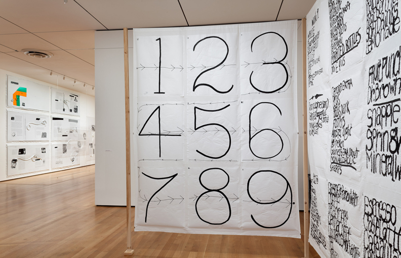 Installation view of Sites of Reason: A Selection of Recent Acquisitions, The Museum of Modern Art, June 11–September 28, 2014. © 2014 The Museum of Modern Art, New York. Photograph: Thomas Griese