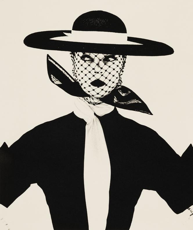 Irving Penn, Black and White Vogue Cover (Jean Patchett), New York, 1950, Copyright © by Condé Nast Publications, Inc.
