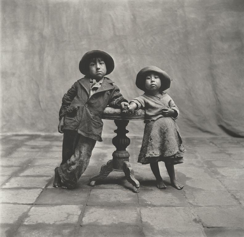 Irving Penn, Cuzco Children, 1948, Copyright © by Condé Nast Publications, Inc.