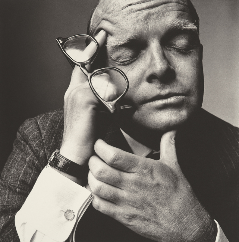Irving Penn, Truman Capote (1 of 2), New York, 1965, Copyright © by Condé Nast Publications, Inc.
