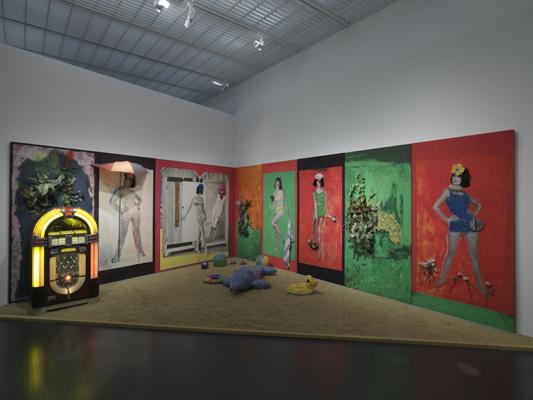 Martial raysse retrospective 1960 2014 at centre for Art minimal centre pompidou
