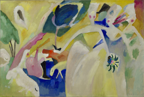 Pastorale, February 1911Oil on canvas, 105.7 x 156.5 cmSolomon R. Guggenheim Museum, New York, Solomon R. Guggenheim Founding Collection 45.965 © 2014 Artists Rights Society (ARS), New York/ADAGP, Paris