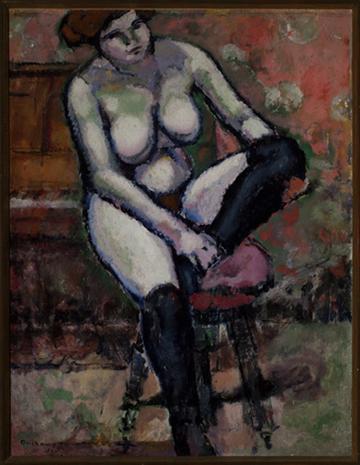 02. Marcel Duchamp, Nu aux bas noirs ∏ ADAGP, Paris 2014 copy