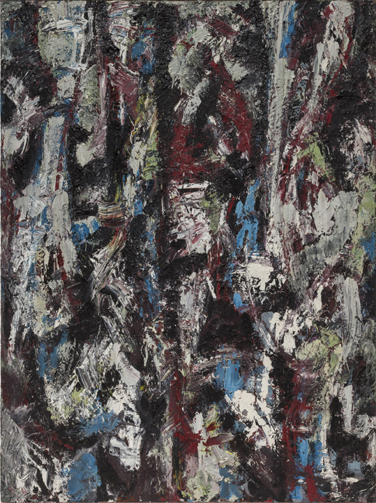 Lee Krasner, Lava, 1950, oil on board, 40 x 30 in. (101.6 x 76.2 cm). Courtesy Robert Miller Gallery. © 2014 The Pollock-Krasner Foundation / Artists Rights Society (ARS), New York