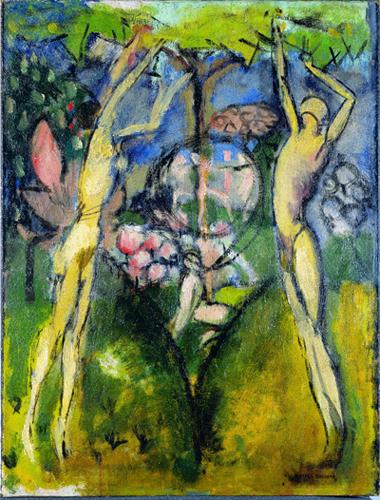 05. Marcel Duchamp, Le Printemps ou Jeune homme et jeune fille dans le printemps copy