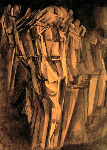 10. Marcel Duchamp Jeune homme triste dans un train ∏ ADAGP, Paris 2014