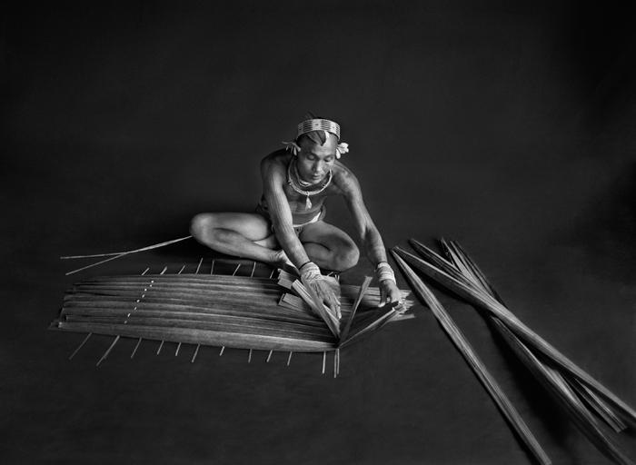 Sebastião Salgado, Teureum, sikeirei and leader of the Mentawai clan. Siberut Island. West Sumatra. Indonesia.  2008. © Sebastião Salgado/Amazonas images-Contact Press Images.