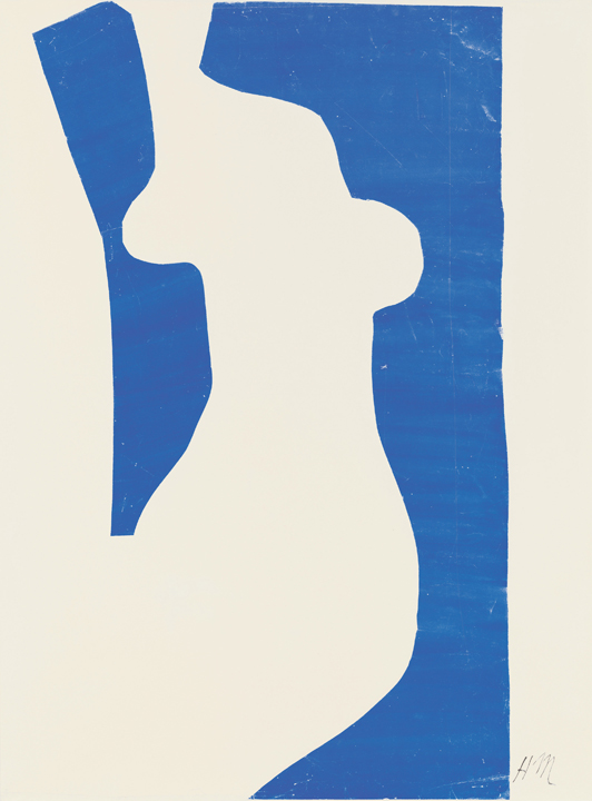 "Henri Matisse (French, 1869-1954). Venus (Vénus), 1952. Gouache on paper, cut and pasted, on white paper, mounted on paper panel. 39 7/8 x 30 1/8"" (101.2 x 76.5 cm). National Gallery of Art, Washington. Ailsa Mellon Bruce Fund, 1973.18.2. © 2014 Succession H. Matisse / Artists Rights Society (ARS), New York"