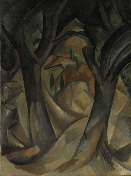 1. Trees at L'Estaque_Braque