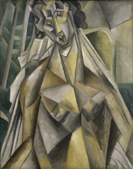 14. Nude in an Armchair_Picasso