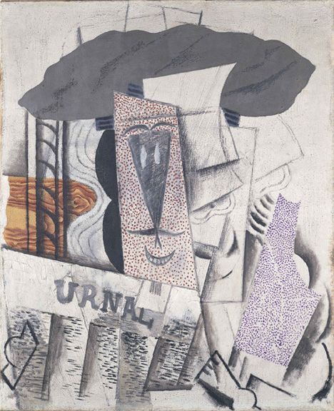 18.Student with a Newspaper_Picasso