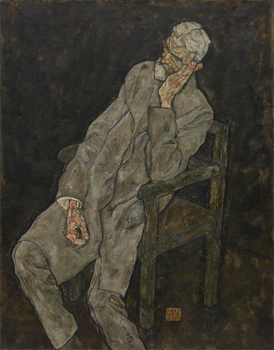 6. Egon Schiele, Portrait of Johann Harms, 1916