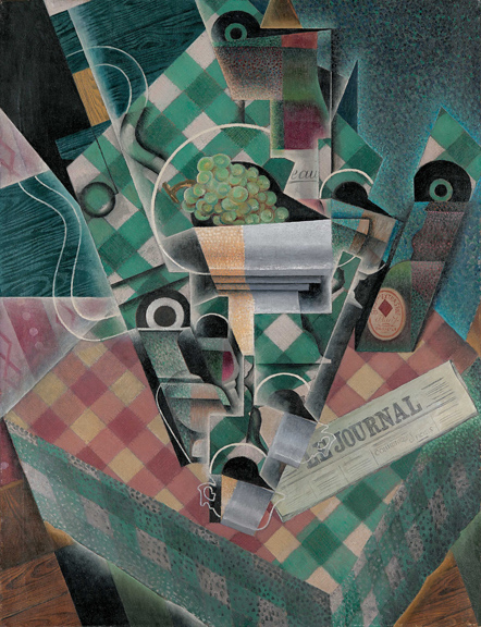 8. Still Life with Checked Tablecloth_Gris