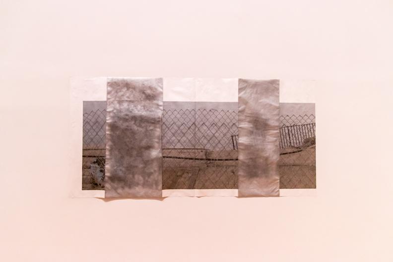 metal on wall