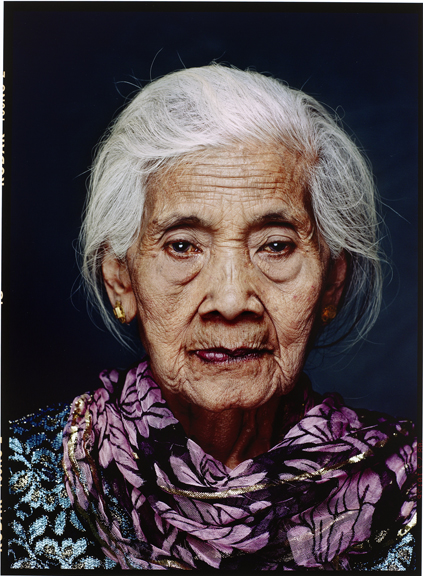 Portrait of Emah (born 1926 in Kuningan, West Java), from the series Comfort Women, Jan Banning (1954), Inkjet print Indonesia, 2008-2009. Collection Rijksmuseum, purchased with the support of the Paul Huf Fonds/Rijksmuseum Fonds.
