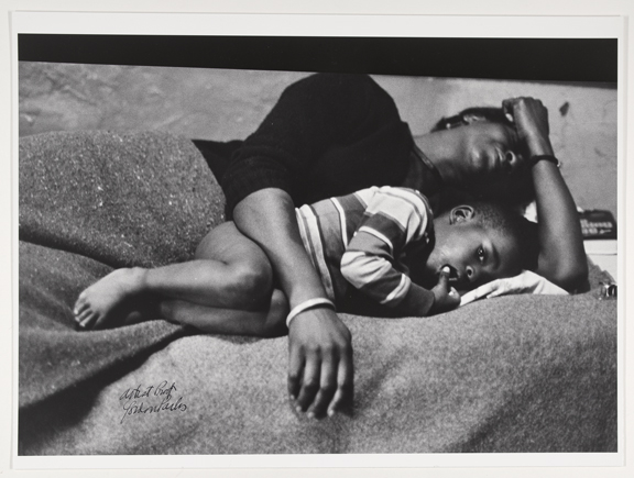 Bessie Fontenelle in Bed with her Son, Richard Gordon Parks (1912–2006). Gelatin silver print. Harlem, New York, 1968. Collection Rijksmuseum, purchased with the support of Baker & McKenzie