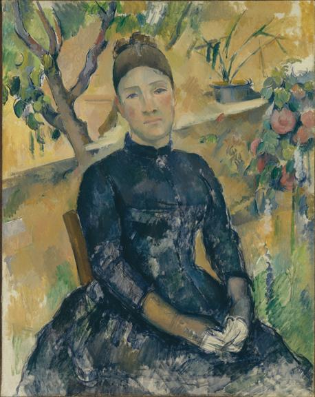2. Cezanne_Madame Cezanne in the Conservatory_MMA