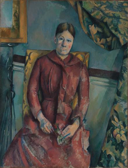 3. Cezanne_Madame Cezanne in a Red Dress_MMA