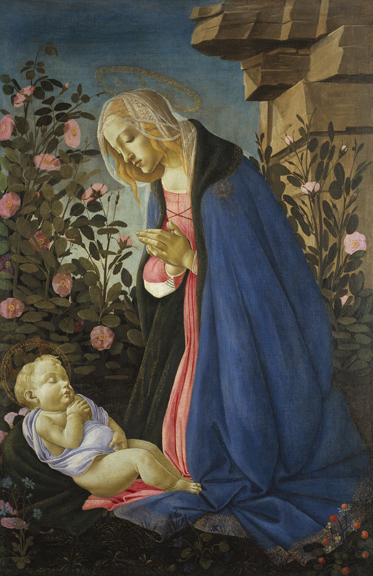 Sandro Botticelli (Alessandro Filipepi), The Virgin Adoring the