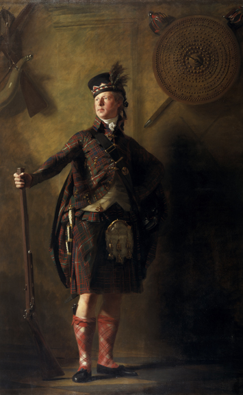 Sir Henry Raeburn, Colonel Alastair Ranaldson Macdonell of Gleng