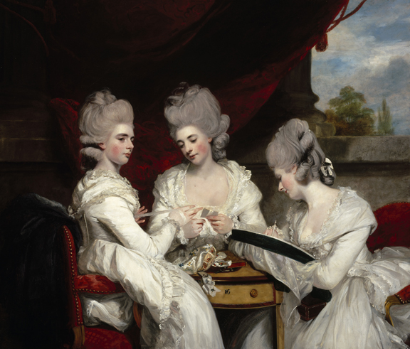Sir Joshua Reynolds, The Ladies Waldegrave