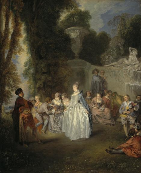 Jean-Antoine Watteau, Fêtes Venitiennes