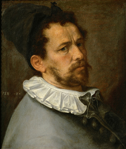 Self-Portrait of the Artist, 1580-1585.