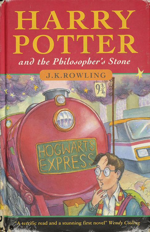 100. Harry Potter Cover