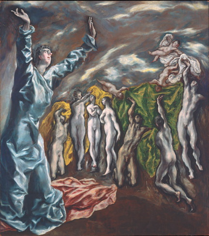 2. El Greco_The Vision of Saint John_MMA