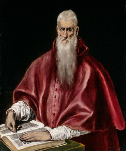 3. El Greco_Saint Jerome as a Scholar_MMA