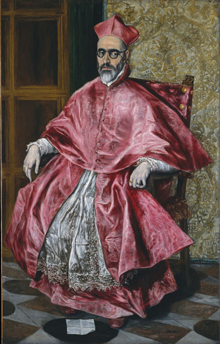 4. El Greco_Cardinal Fernando Nino de Guevara_MMA