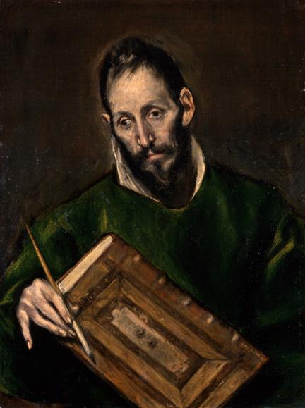 7. El Greco_Saint Luke_Hispanic Society of America