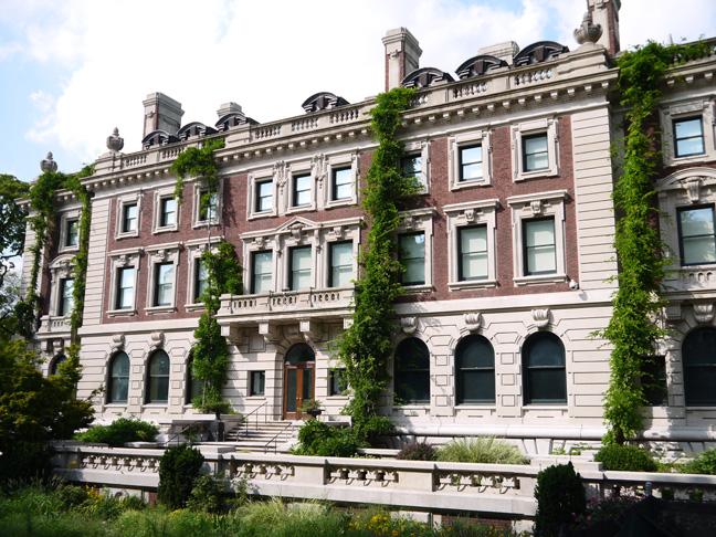 Cooper Hewitt, Smithsonian Design Museum, South facade