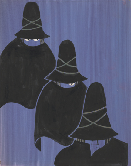 Untitled_drawing for The Three Robbers