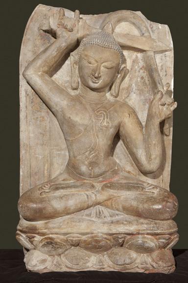 04_Bagan_Buddha severing hair