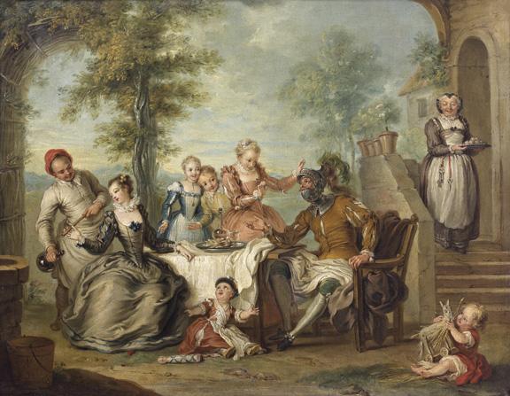 """""""Don Quichotte servi par les filles de l'hôtellerie"""""""