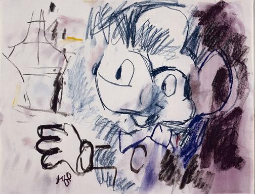 16. Lichtenstein Mickey Mouse
