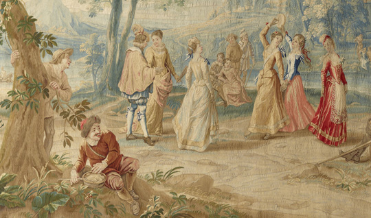 The Arrival of Dancers at the Wedding of Camacho, c. 1710-52