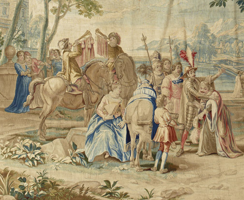 Sancho Panza's Departure for Isle of Barataria, c. 1711-52