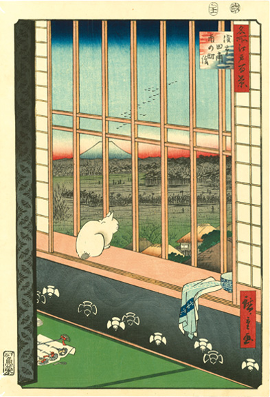 01_Hiroshige_Asakusa Rice Fields